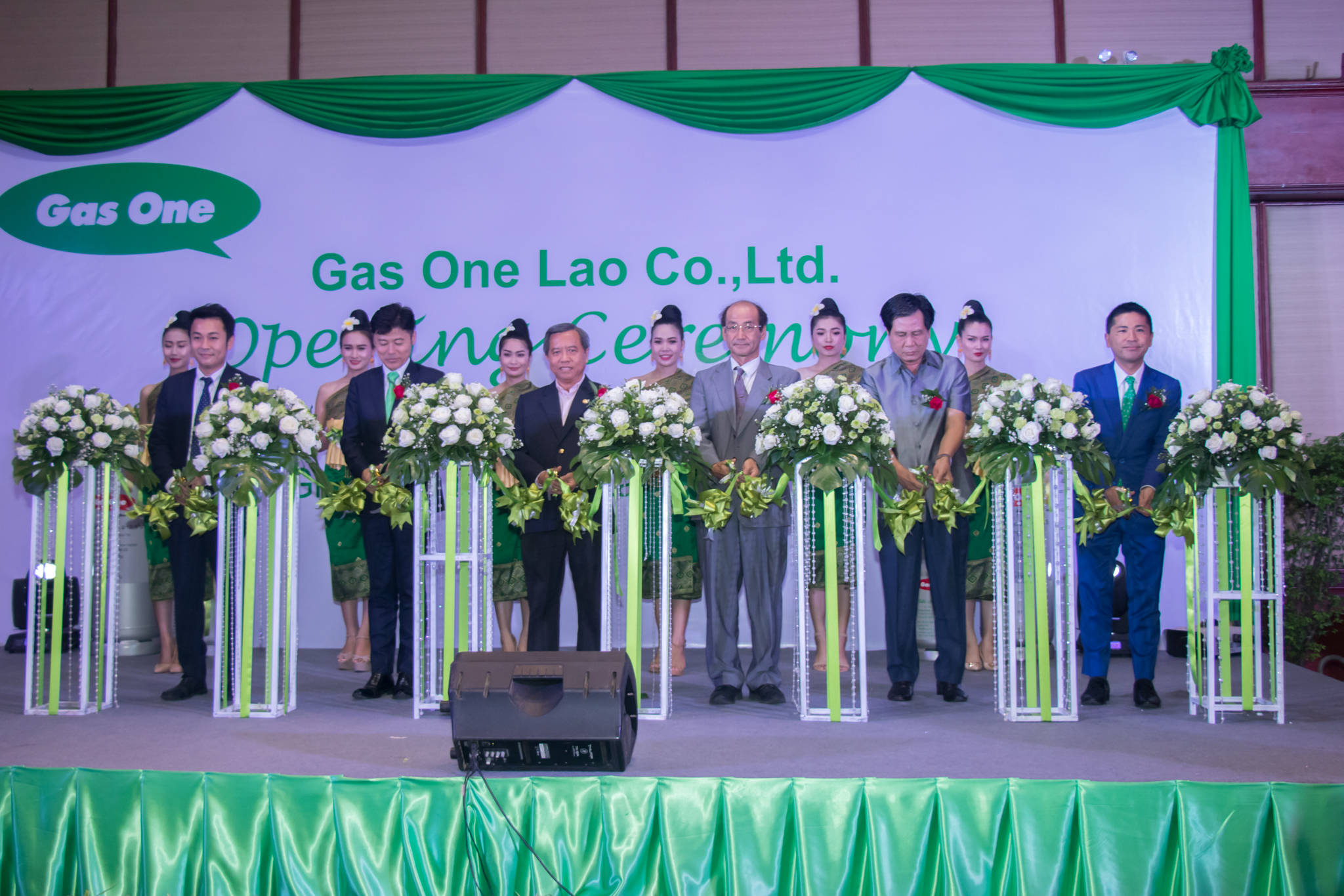 Grand Opening Ceremony of Gas One Lao Co., Ltd.